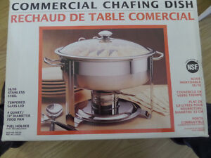 Commercial chafing dish  / rechaud de table commercial