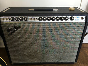 Fender Twin Reverb silverface 1972 mint condition