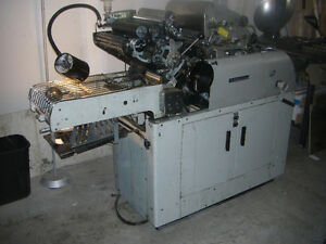1250 Multi Offset Press with T51 2nd colour head Cambridge Kitchener Area image 1