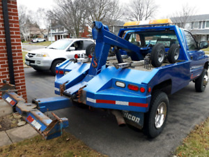 Tow hitch and everything for tow truck