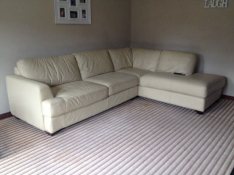 Large Leather Corner Sofa In County Antrim Gumtree