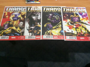 Thanos comics ( movie coming out)