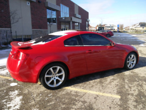 Low km 2005 Infiniti G35 Coupe Loaded