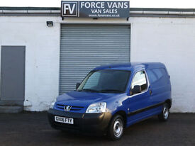 PEUGEOT PARTNER 2.0HDi 600LX WORK CAR DERIVED SMALL DELIVERY TOOL STORAGE VAN