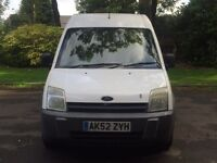 FORD TRANSIT CONNECT 1.8 LWB HIGH TOP