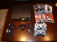 Sony PlayStation 3 Slim Console 125GB with 2 remotes