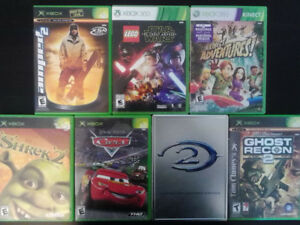 7 XBOX 360 VIDEO GAMES LOT $25