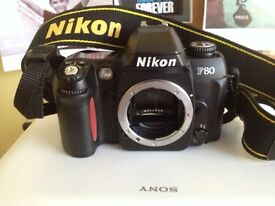 NIKON F80 body (camera is not digital)