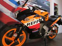 Honda CBR125 REPSOL