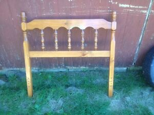 Head board for twin bed.