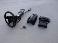2014 Ford Focus steering column with two keys
