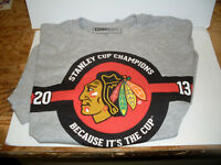 Chicago Black Hawks Coors Light Stanley Cup T-Shirt *NEW*