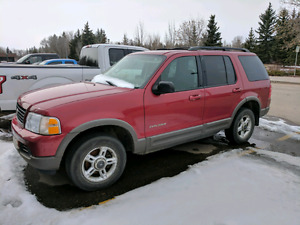 Selling 2002 ford explorer