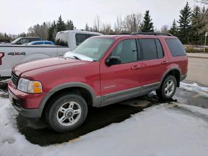Selling 2002 ford explorer