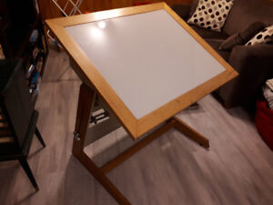 Drafting light table a dessin a lumiere