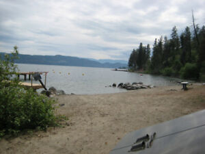 Lakeside Vacation Rental one bedroom condo Lake Okanagan Resort