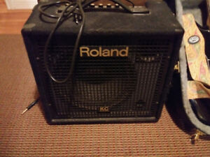 FOR SALE - ROLAND AMP WITH 4 CHANNELS FOR ALL INSTRUMENTS