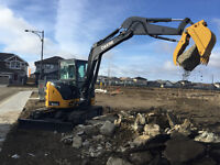 MINI EXCAVATOR & BOBCAT SERVICES/Final Grade/Topsoil/Gravel