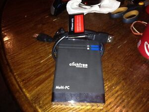 120 gb external hard drive & automatic backup London Ontario image 1