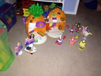 Spongebob pineapple house & Extras
