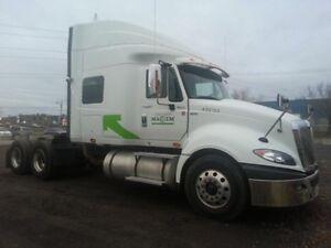 2013 International Prostar Limited, Used Sleeper Tractor