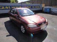 2001 Vauxhall Astra 1.6 i Club 5dr (a/c)