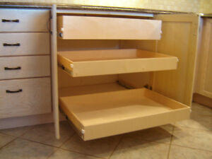 MAKE YOUR CUPBOARDS MORE USER FRIENDLY--WITH ROLLING SHELVES Kawartha Lakes Peterborough Area image 7