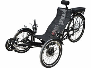 Recumbent Ebike Electrify your ride!