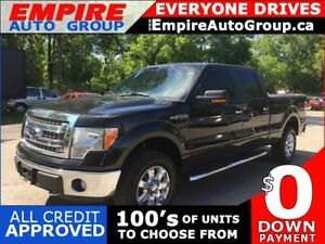 2014 FORD F-150 PLATINUM * 4WD * ONE OWNER * LEATHER * REAR CAM