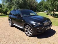 Stunning 2007 (57) Black BMW X5 4.8 V8 Auto 7 Seater Every Extra Possible e70