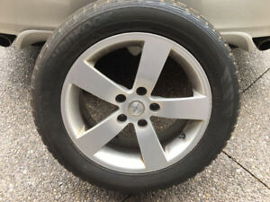 Hankook Winter Tires and Rims - Good Condition
