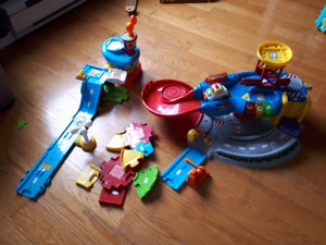 Vtech car tracks, airport and garage