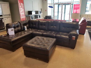 Black Friday Special Ottoman for $99 with purchase of Sofa&Chase