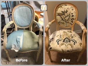 *******Reupholstery services *********