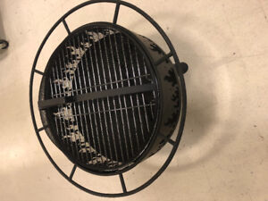 Full Fire Pit with Grill and cover Brand New in Box
