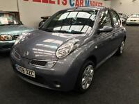 2008 NISSAN MICRA 1.2 Acenta From GBP2650+Retail package.