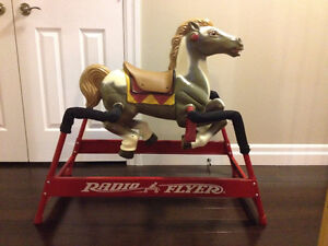 Radio Flyer Riding Horse / Spring Rocking Horse w