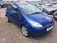 2006/56 Mitsubishi Colt 1.1 ( a/c ) Blue LONG MOT EXCELLENT RUNNER