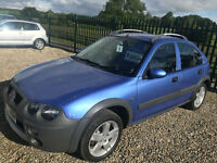 ROVER STREETWISE 2.0TD 84000 MILES NEW CAMBELT DISCS/PADS NEW TYRES FULL MOT