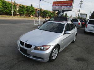2006 BMW 3-Series 323i SedaniSport , Premium Package,LEATHER,SUN
