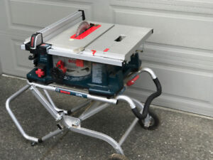 Bosch Table Saw and Stand