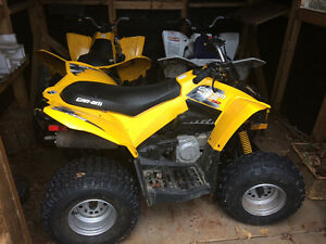 3 Four Wheelers For Sale