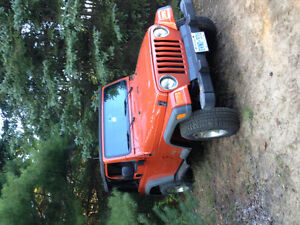 2006 Jeep Tj sport 6speed