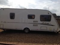 Swift Charisma Fixed Bed Caravan. Dealer Limited Edition Archway.