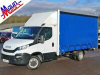 2016 Iveco Daily 35C13 DRW, LWB, 14ft CURTAIN-SIDER, 1 Owner, FSH, Bluetooth MP3
