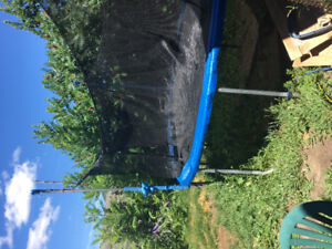 Large trampoline for sale $100 pick up only