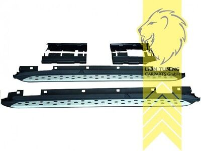 Trittbretter Schweller Seitenbretter Set ALU für Mercedes Benz GLA Klasse X156
