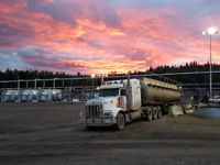 Experienced truck driver looking