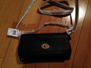 Leather Coach Crossbody Purse