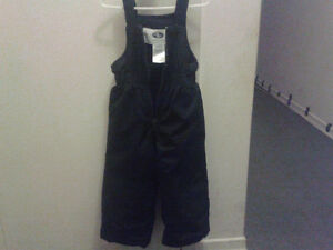 BLACK SNOW PANTS- 2T was $10